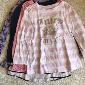 Other - Toddler Girls Long Sleeve Shirts